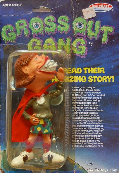 Gross Out Gang - Roll Call!! - Weirdo Toys - Weirdo Toys