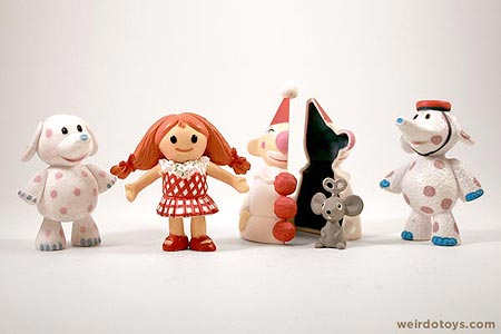 Rudolph the Red-Nosed Reindeer Misfit Toys