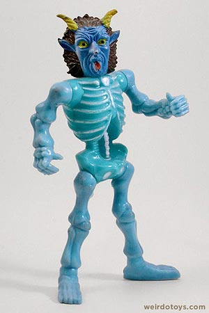 Blue Devil Skeleton