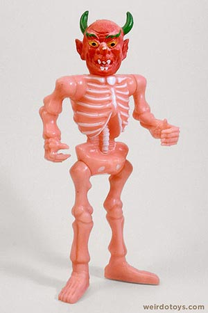 Pink Devil Skeleton