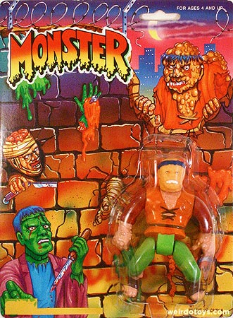 Toxic Hunchback figure from the MONSTER toyline