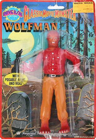 Wolfman figure by Imperial Toys