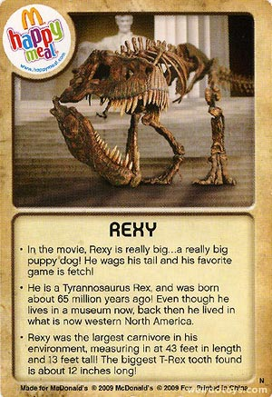 Rexy Card