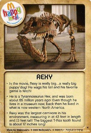 Rexy Card