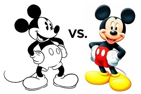 Mickey Vs. Mickey