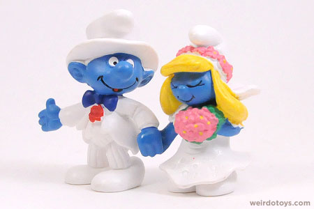 Wedding Smurfs