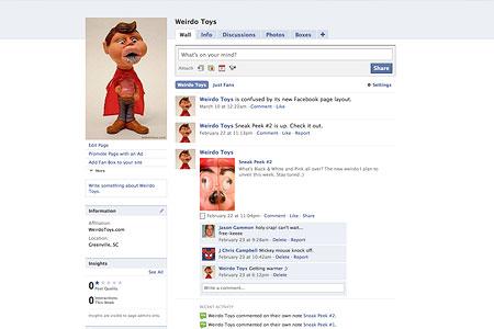 Weirdo Toys Facebook