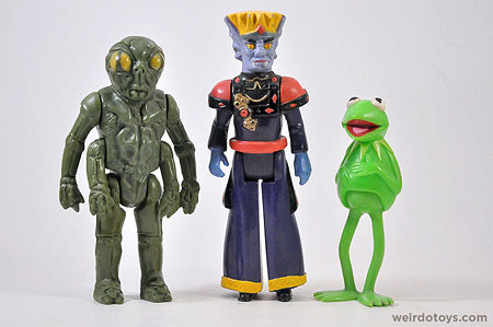 Ovion, King Zarkon and Kermit