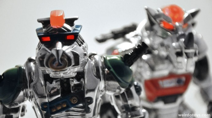 Robotic Bebop and Rocksteady by Playmates