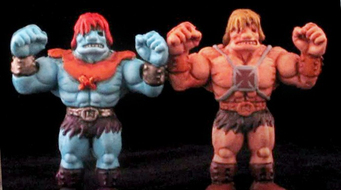 You got your M.U.S.C.L.E. in my MOTU!